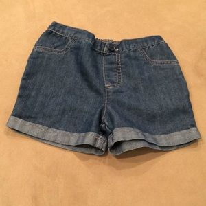 okie dokie Bottoms - Girl's soft denim look jean shorts! NWOT